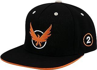 f96e771b5e0 JINX The Division 2 Agent On Duty Snapback Baseball Hat (Black, One Size)