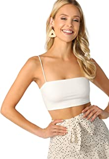 Best white tank top thin straps Reviews