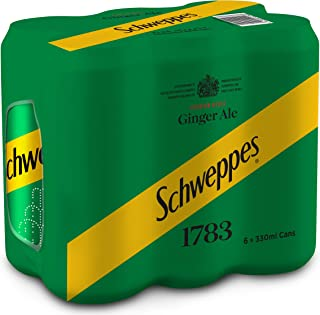 Schweppes Ginger Ale 6X330ML