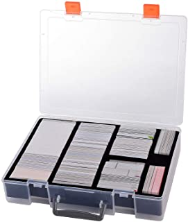 2200+ Card Case Holder - C.A.H / MTG Deck Box Organizer Storage Compatible with Cards Against Humanity/ Magic The Gatherin...