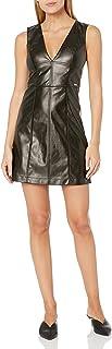 A|X Armani Exchange Women's Sleeveless Tight Metallic Party Dress