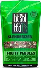 Tiesta Tea Fruity Pebbles, Strawberry Pineapple Green Tea, 1 Pound Bag, Medium Caffeine, Loose Leaf Green Tea Slenderizer Blend, 200 Servings , 16 Ounce (Pack of 1)