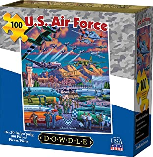 Dowdle Jigsaw Puzzle - U.S. Air Force - 100 Piece