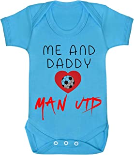 Me and Daddy love Chelsea Baby Bodys//Strampler Baumwolle