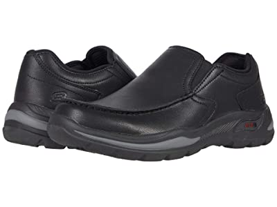 SKECHERS Arch Fit Motley Hust (Black) Men