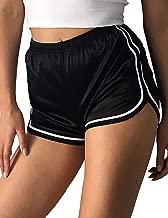 Glossy Yoga Hot Stretch High Waist Booty Shorts Women Pilates Sport Casual Workout