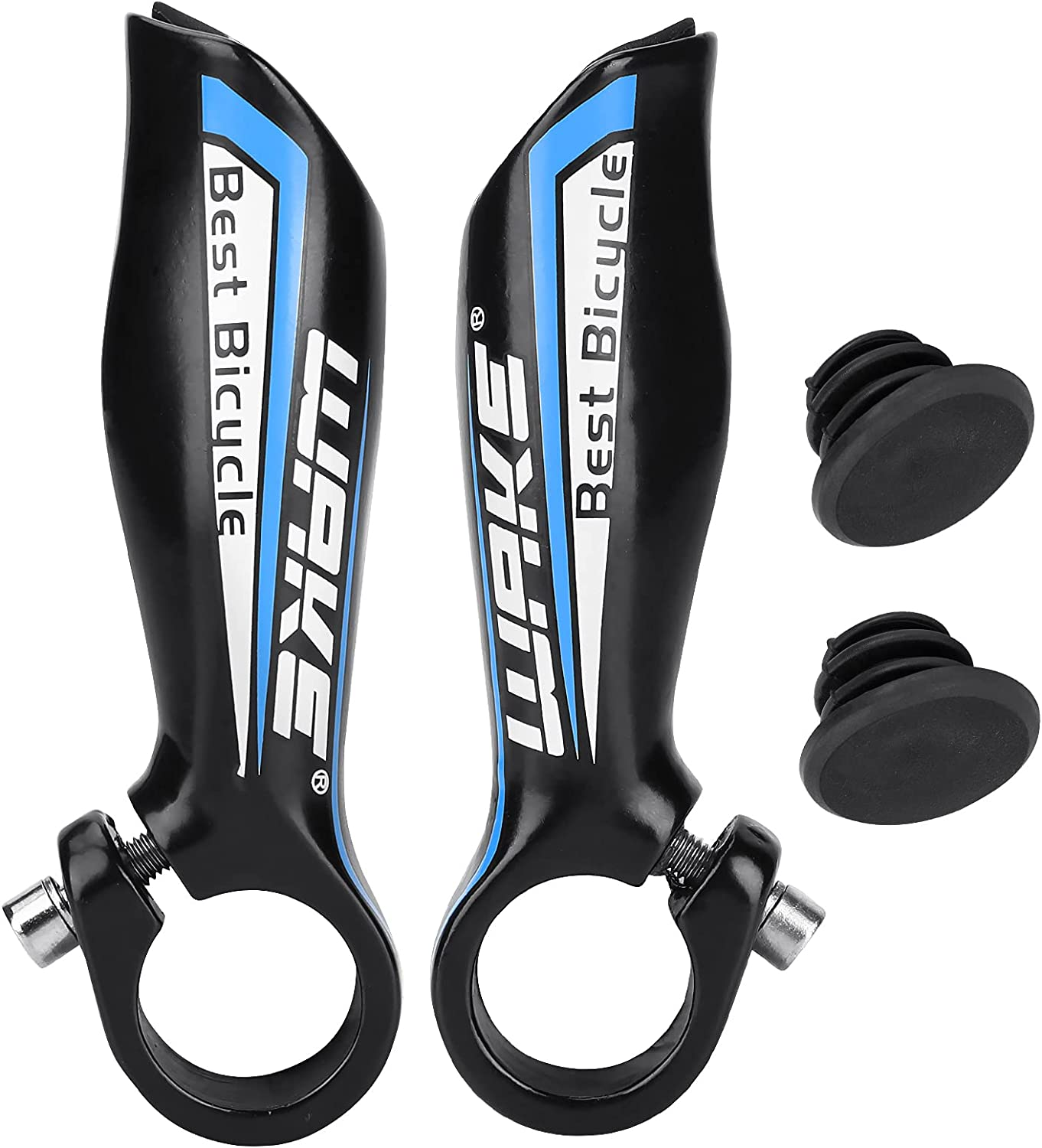 Welltop Bike Bar Limited price Ends Colorado Springs Mall 2PCS Bicycle Handlebar End Aluminum Alloy