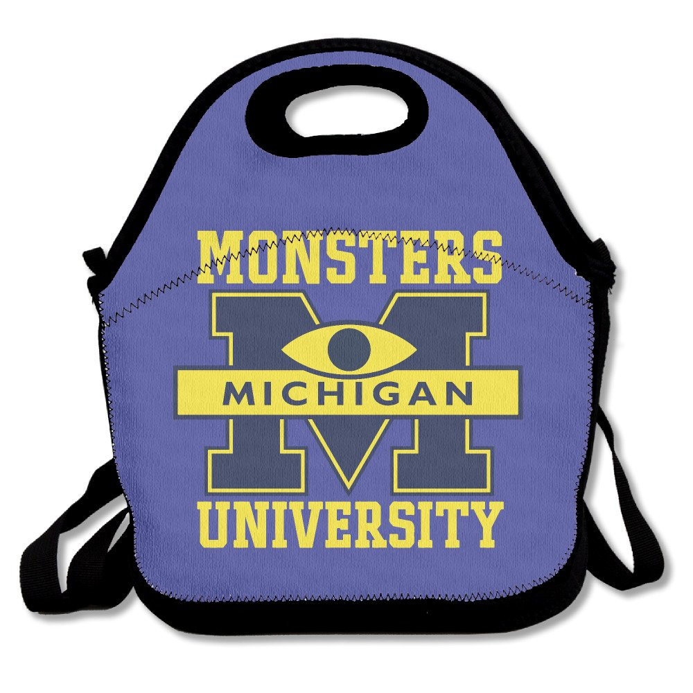 Michigan Monsters University Insulated Waterproof Lunch Tote Bag