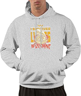 I Survived Men's Hoodies Sweatshirts Clothing and Sports.Adult