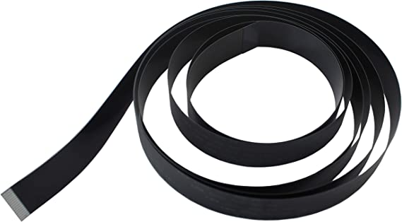 Pack of 2 UCTRONICS Ribbon Flat Cable for Raspberry Pi Camera 15pin 1.0mm Pitch 200cm 6.56ft