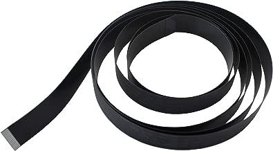 A1 FFCs Black Flex Cable for Raspberry Pi Camera Cable Length - 200 cm / 2 m / 6.6 ft (1)
