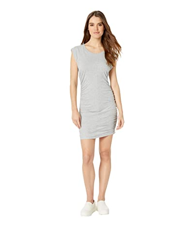Splendid Rouched Side Dress (Heather Grey) Women