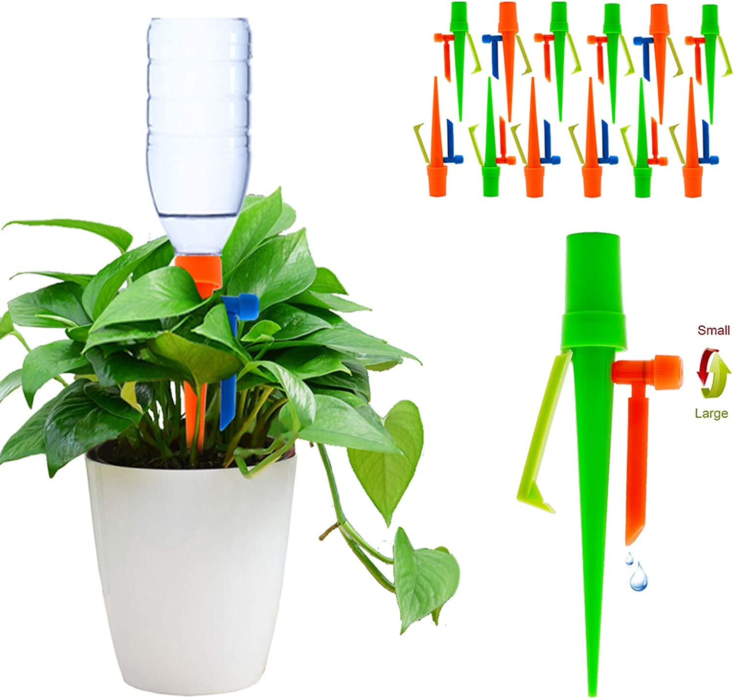 【2020 NEW】 2021 autumn and winter new Plant Self Spikes Watering Non-stop System Popular