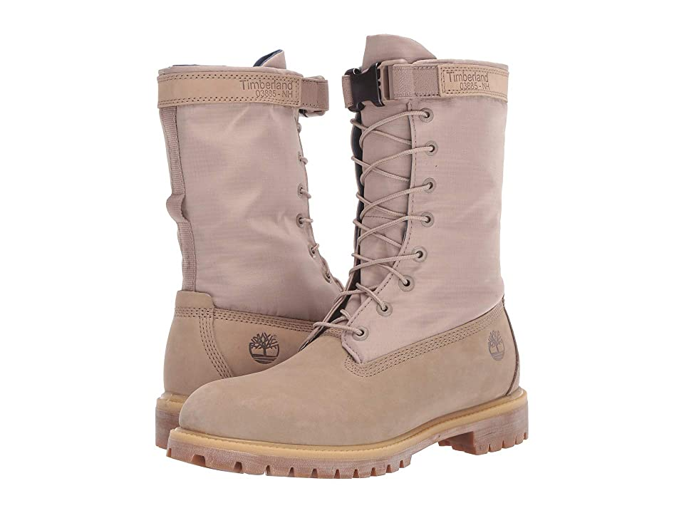 Timberland 6 Premium Gaiter Boot (Dark Beige Nubuck) Men