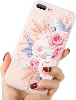Phone Case for Huawei Honor 10 9 Lite 8X V9 7X 7A Rose Floral Cases Flower Silicon Soft Cover for Huawei Nova 3 2 Plus,Two,for Honor 7A
