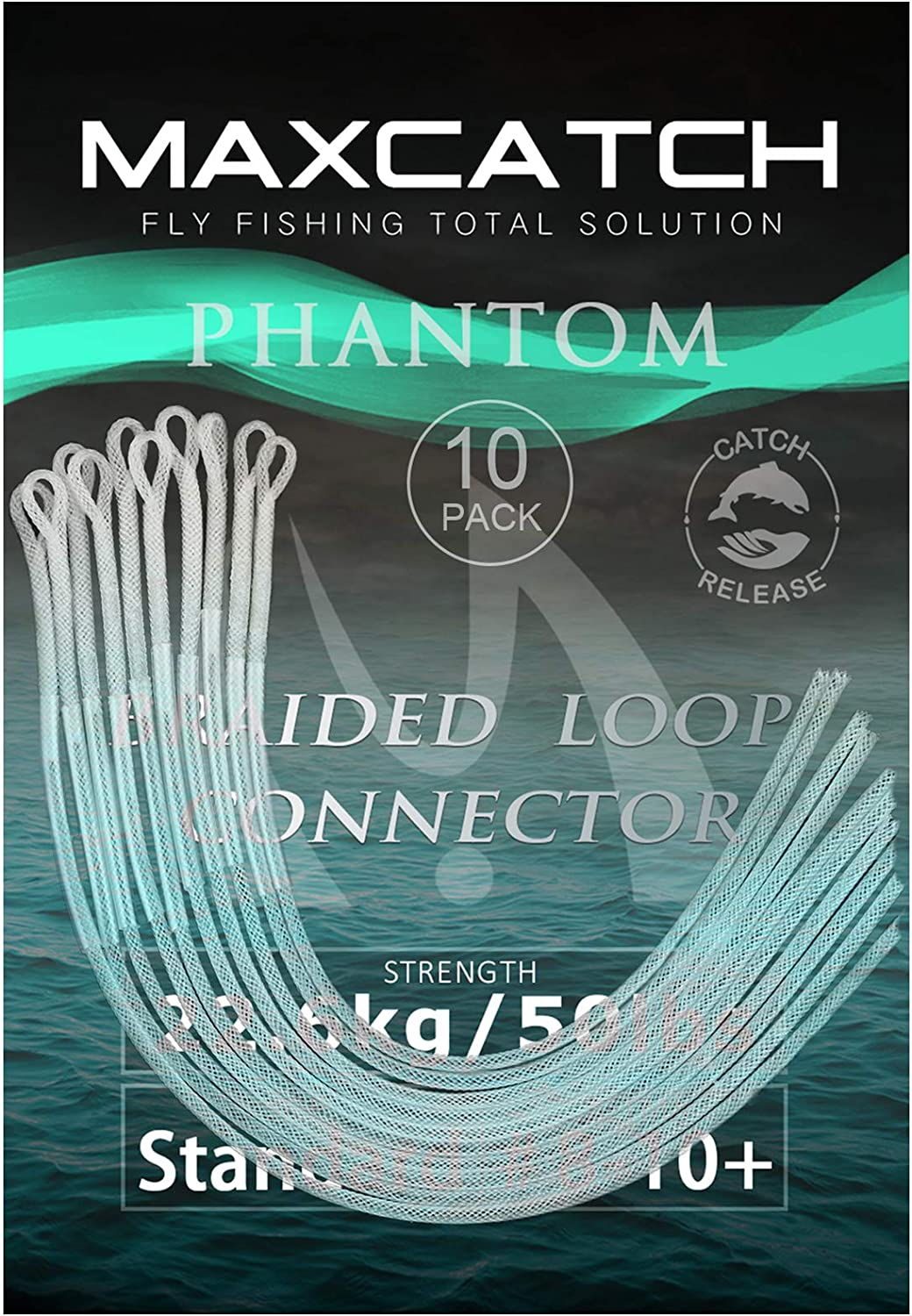excellence M MAXIMUMCATCH Maxcatch Fishing Braided Leader 3 Connectors 2021 spring and summer new Loop