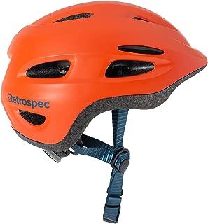 Retrospec Scout-1 Bike & Skate Helmet CPSC Approved Ages 1-10, Matte Burnt Orange, S 49-53cm