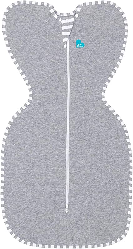 Love To Dream Swaddle UP Gray Small 7 13 Lbs Dramatically Better Sleep Allow Baby To Sleep In Their Preferred Arms Up Position For Self Soothing Snug Fit Calms Startle Reflex