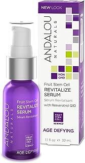 Andalou Naturals Fruit Stem Cell Revitalize Serum, 1.1 Ounce