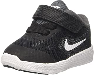 Nike Revolution 3 TDV Black Grey White Boys/Girls