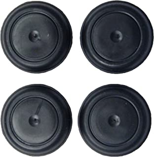 Upper Bound Set of 4 Rubber Body Floor Pan Drain Plugs for Jeep Wrangler TJ 1997 to 2006 Models