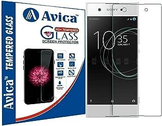 AVICA® 2.5D HD Flexible Proper Camera and Sensor Cut Tempered Glass Screen Protector for Sony Xperia XA1