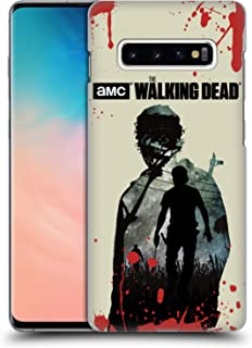 Official AMC The Walking Dead Rick Silhouettes Hard Back Case Compatible for Samsung Galaxy S10+ / S10 Plus