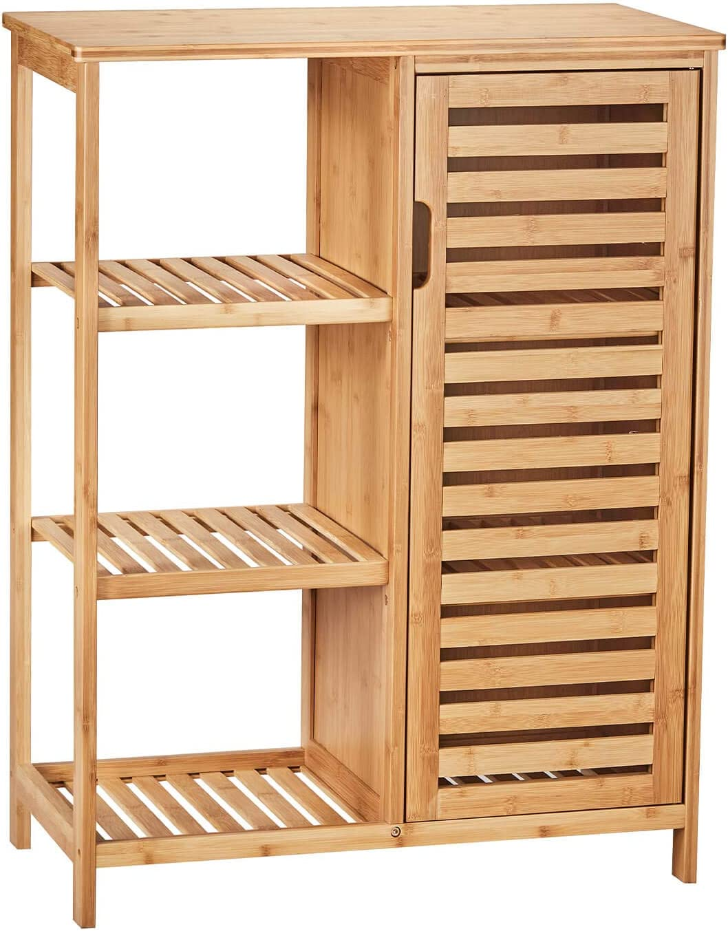VIAGDO Max 73% OFF Seasonal Wrap Introduction Bathroom Storage Cabinets with Doors 3 Side and Shelves