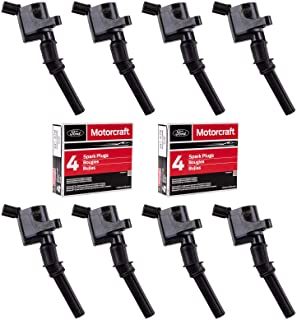 MAS Ignition Coil DG508 & Motorcraft Spark Plug SP479...