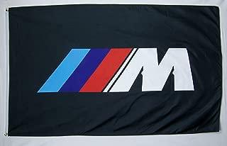 Nuge BMW M Racing Flag 3' X 5' Indoor Outdoor Automotive Banner (USA Seller)