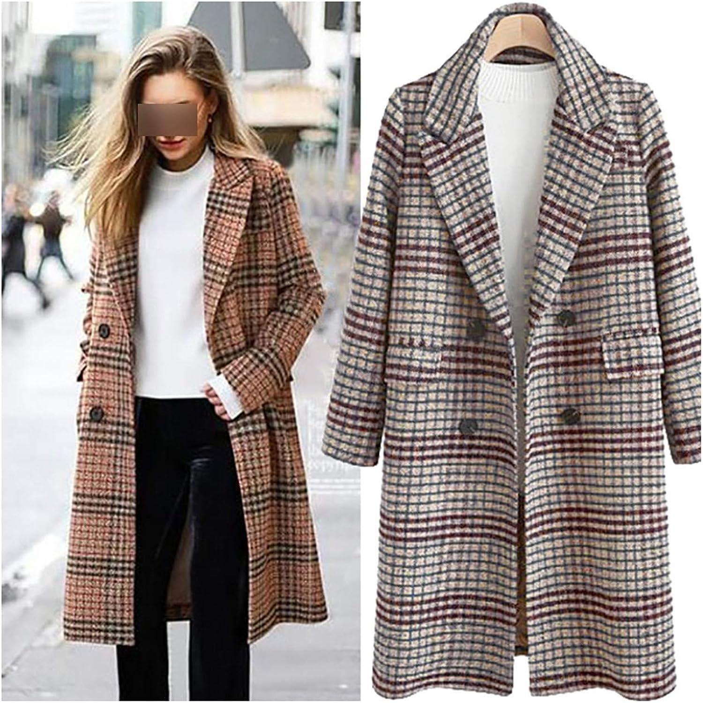 Allaoh Spring Suit Blazer Women 2019 Formal Wool Blends Jacket Coat Work Office Lady Plus Size Long Sleeve Blazer 4XL
