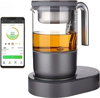 Théière à thé Qi Aerista | Brasser facilement et intelligemment | 9 programmes d'infusions automatiques | L'application | ...