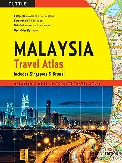 Tuttle Maylaysia Travel Atlas: Includes Singapore & Brunei