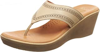 Scholl Women's Misha Thong Leather Slippers
