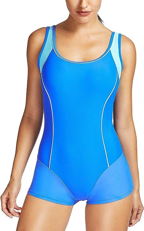 Delimira Damen Einteiler Badeanzug