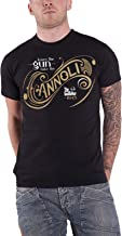 The Godfather T Shirt Leave The Gun Take The Cannoli Official Mens Black