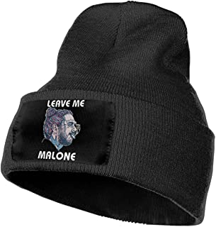 38c95d9905e467 Leasan Mens & Womens Rapper Post Leave Me Malone Skull Beanie Hats Winter  Knitted Caps Soft