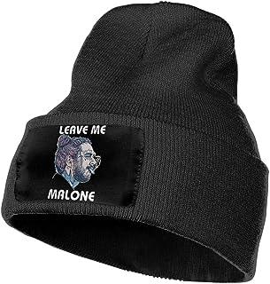 Leasan Mens & Womens Rapper Post Leave Me Malone Skull Beanie Hats Winter Knitted Caps Soft Warm Ski Hat Black