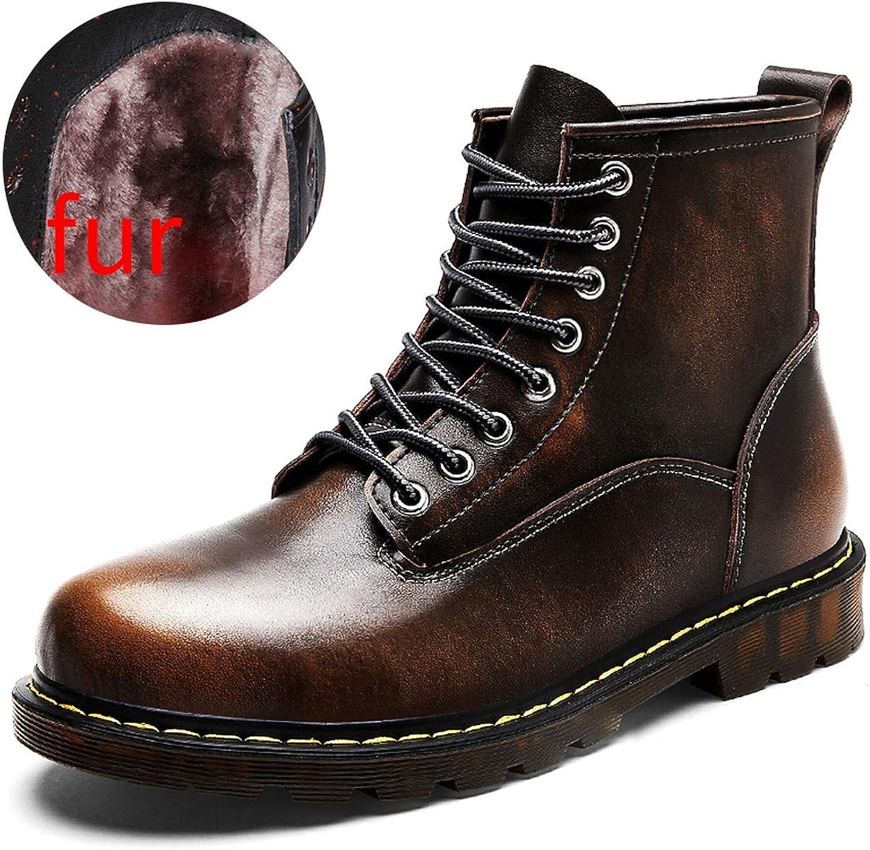 Fanatical-Night Autumn Winter Men Boots Waterproof Ankle Boots Men Martin Boots Outdoor