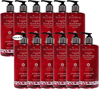 White Pearl Liquid Hand Wash With Pomegranate(466ml) (Pack of 12)