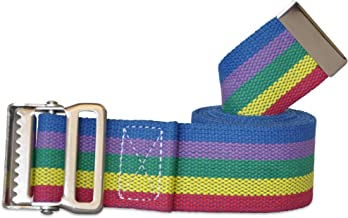 NYOrtho Metal Buckle Gait Belt - Adjustable Machine Washable Strong and Durable Cotton Material Latex Free, Color, Size