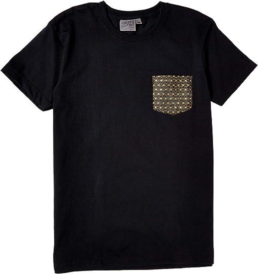 Black/Golden Kimono/Pattern