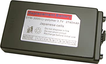 Symbol / Motorola MC3090 MC3000 Series Mobile Computers: Replacement Battery, 3.7V, for Rotating Head and Handheld