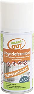 Insect-OUT Ungeziefernebel 150 ml - Sofort- und Langzeitwirkung bis zu 6 Monaten, für Innenräume, mit dem Wirkstoff der Chrysantheme