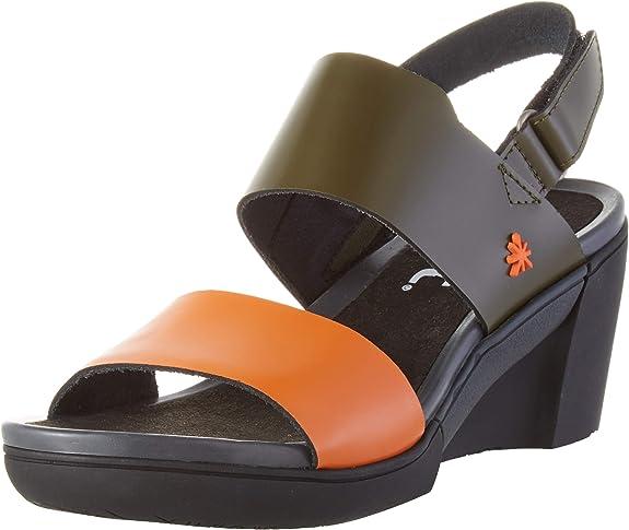 ART Rotterdam, Zapatos de tacón con Punta Abierta Mujer