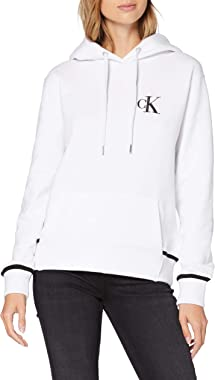 Calvin Klein Jeans CK Embroidery Tipping Hoodie Sweater Femme