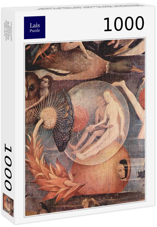 Lais Puzzle Hieronymus Bosch - El Jardín de Las Delicias, Panel Central: El Jardín de Las Delicias, Detalle 1000 Piezas: Amazon.es: Juguetes y juegos