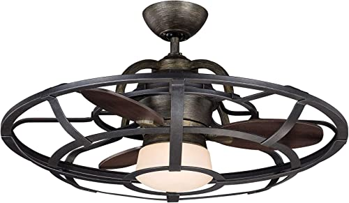 discount Savoy House 2021 26-9536-FD-196 Downrod Mount, 3 Chestnut Blades Ceiling fan with 37 watts light, Reclaimed 2021 Wood online sale