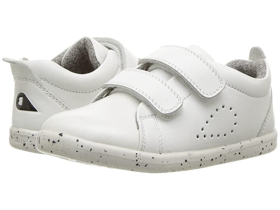 Bobux Kids I-Walk Grass Court Trainer (Toddler) (White) Kid