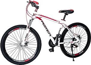 Aster L600 Mountain Bike - White Red 26 Inch (Multi Color)